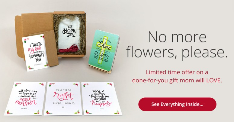 Check out the HOPE DECK bundle for Mother's Day!