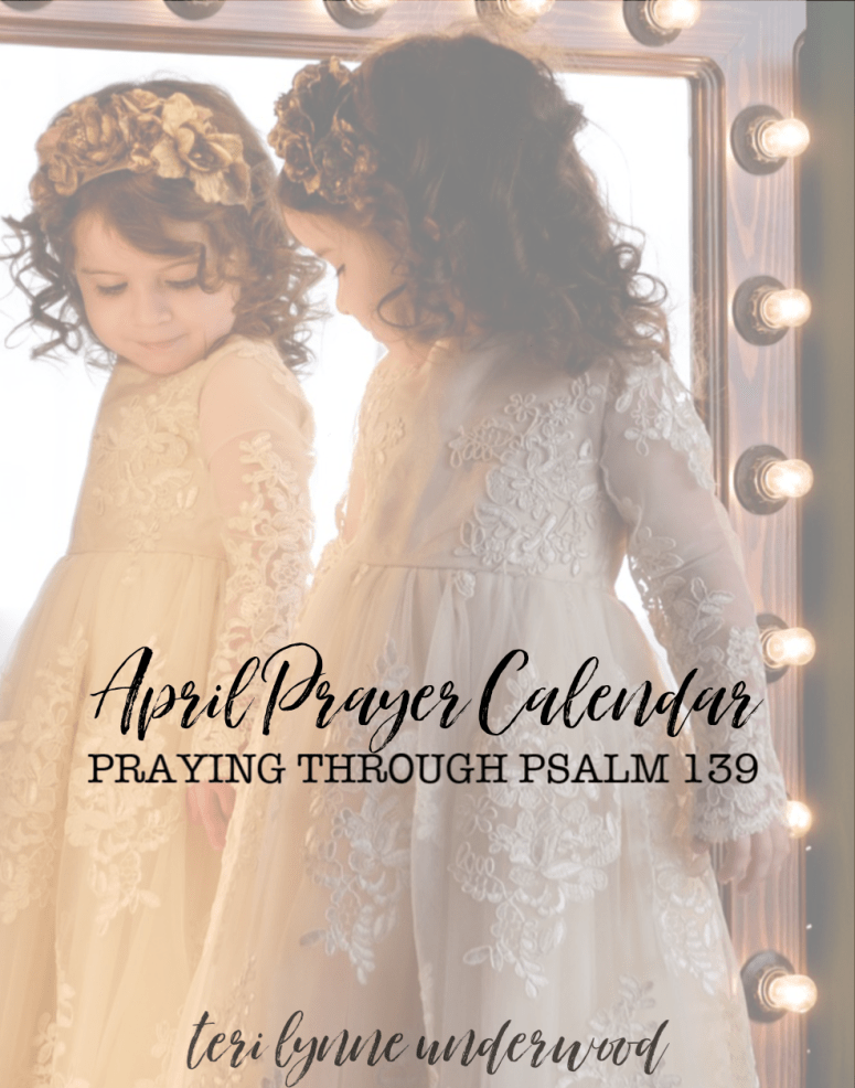 One of the most important areas we can pray for our daughters is that they know their identity in Christ.  Join thousands of moms who are praying Psalm 139 for their girls! bit.ly/girlmoms