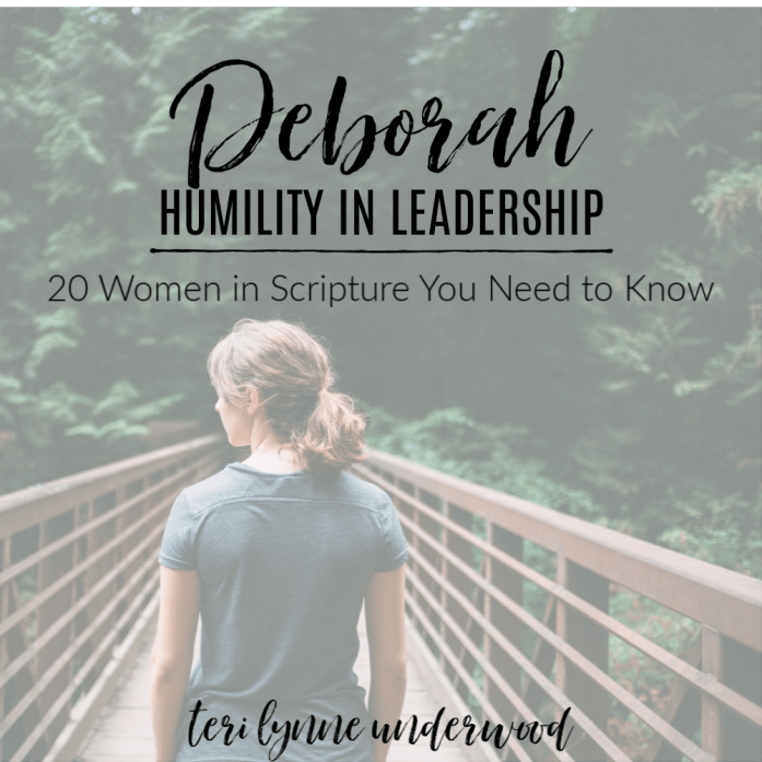 20 Women in Scripture You Need to Know || Deborah: Humility in Leadership  Deborah offers us an example of the servant leadership we see perfected in Jesus. She was both strong and humble and her ultimate desire was to give God the glory.