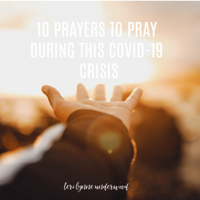 10 PRAYERS TO PRAY DURING THIS COVID-19 CRISIS || PRINTABLE PRAYER GUIDE FOR INDIVIDUALS, SMALL GROUPS, AND CHURCHES