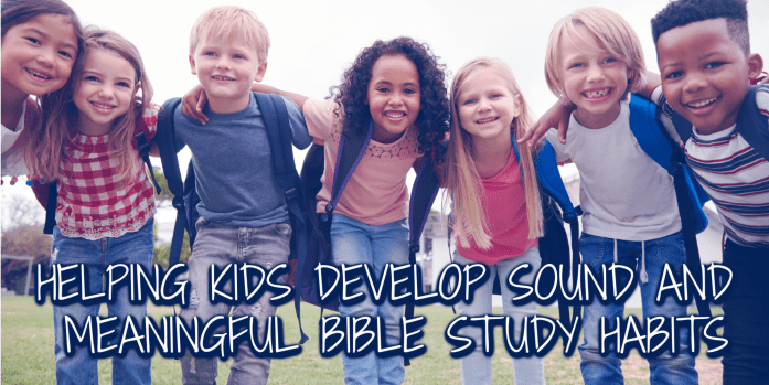 Scripture Dig for Kids