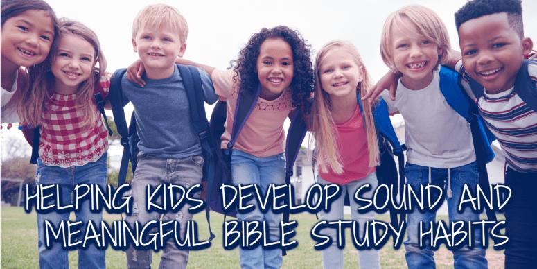 Scripture Dig for Kids
