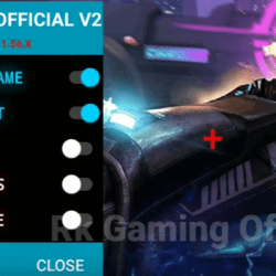 RK Gaming Official Mod V2 Apk Download Mod Menu FF Auto Headshot