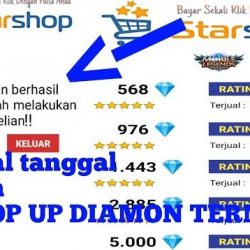 Star Shop FF Apk Top Up Diamond Free Fire Murah Di Starshop ID