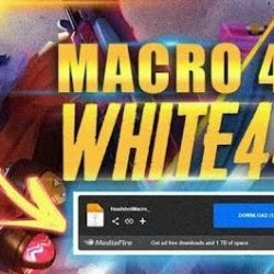 White444 Macro FF Apk Plus Link Download Config Auto Headshot