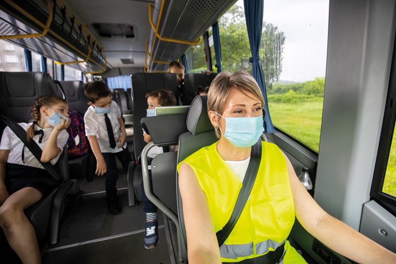 Sanificazione ciclo continuo autobus