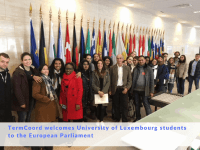 Master Students from University of Luxembourg visit TermCoord at European Parliament