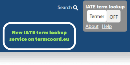 New IATE term lookup service on termcoord.eu