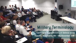 TermCoord in Conferences: 5-6/11/2018 – International Conference Military Terminology Ljubljana