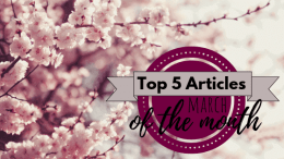 Top 5 Articles of the Month – March 2019