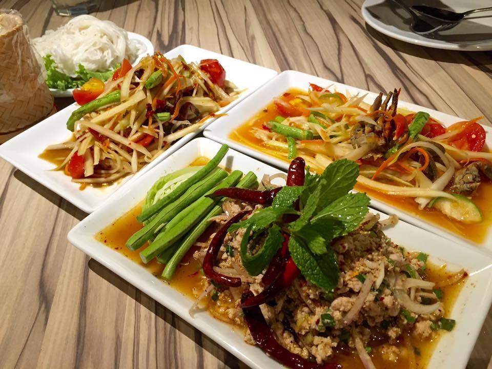 曼谷美食丨品尝曼谷美食,千万不要错过的青木瓜沙拉餐厅