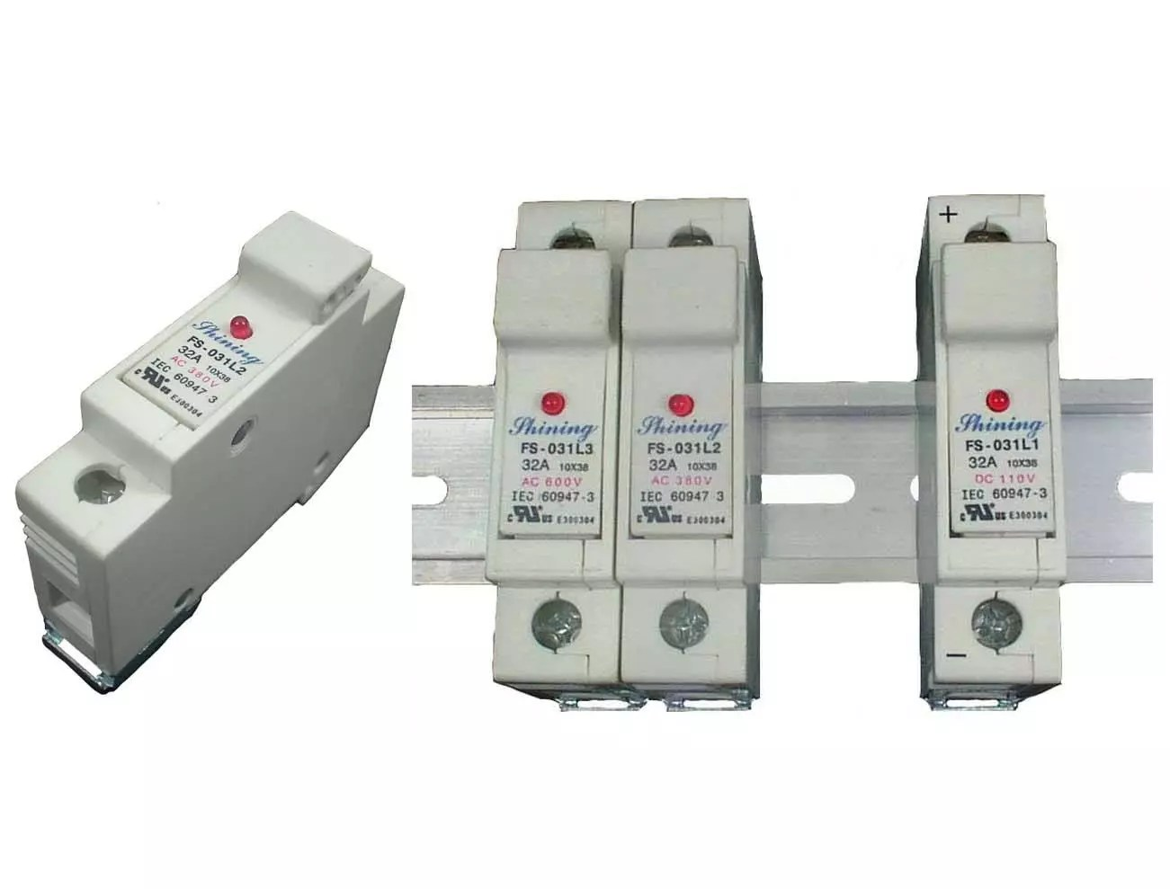 hight resolution of shining fs 03xl2 series din rail mounted 10x38