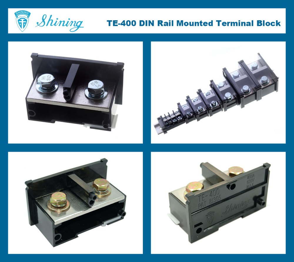 medium resolution of te 400 combined type 400a top hat rail