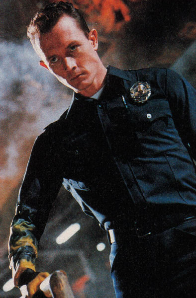 Robert Patrick images portraying the T1000 in Terminator