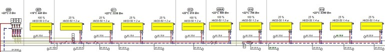 Проектирование. Схема системы отопления
