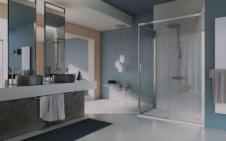 Sanitari  Arredo bagno Alto Adige  7000 nuova cabina doccia di VISMARAVETRO