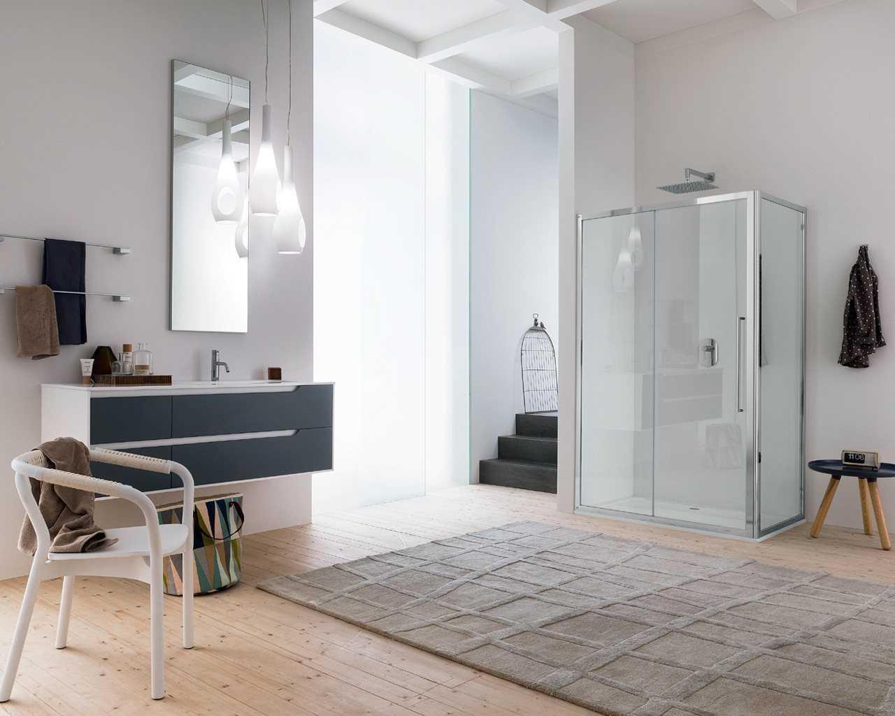 Sanitari  Arredo bagno Alto Adige  TRENDYparete doccia di INDA