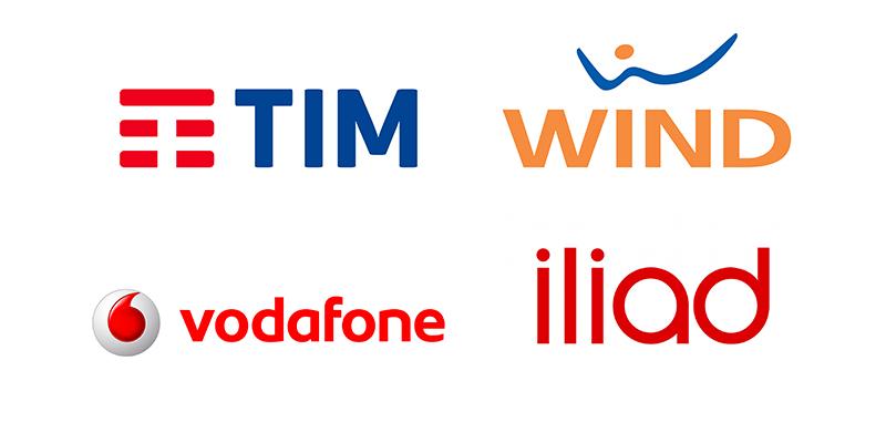 Tim Wind e Vodafone offerte mobile in ricaricabile ad agosto 2018