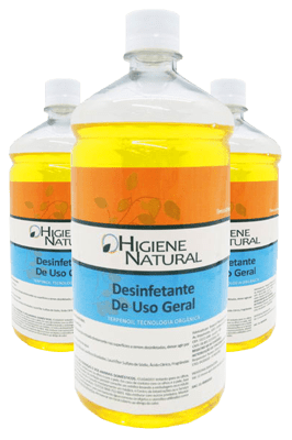 Líquido Desinfetante Para a Máquina Termovaporizadora.