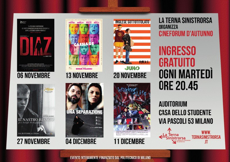 Cineforum Autunnale 2012