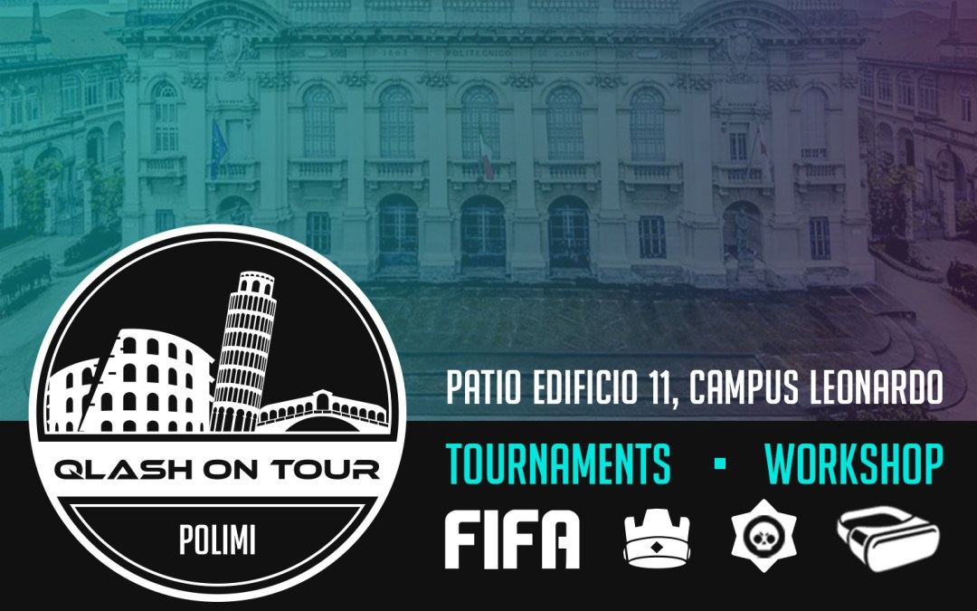 QLASH on Tour: gli Esport invadono il Politecnico di Milano