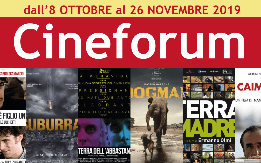 Cineforum autunnale 2019
