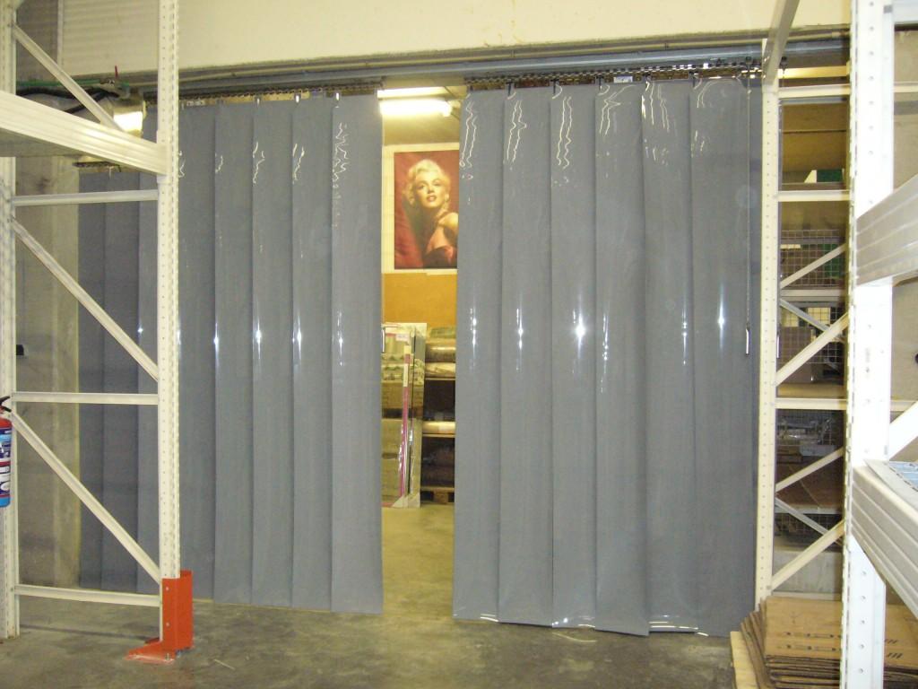 Cortinas Lamas Verticales PVC Fijas y Correderas