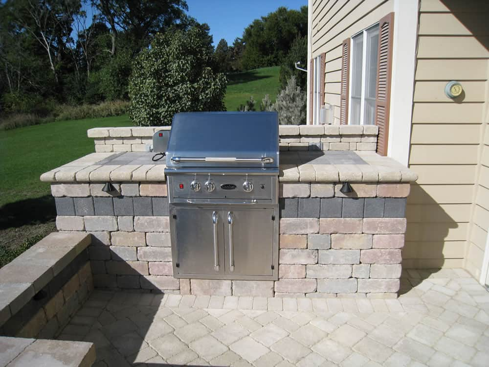 kitchen grills whitewash table outdoor kitchens | built-in grillsmuskego, wi