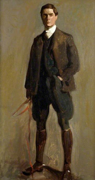 brian-hatton-English-1887-1916-self-portrait-in-hunting-kit-1903 oil-on-board-hereford-museum-and-art-gallery.jpg