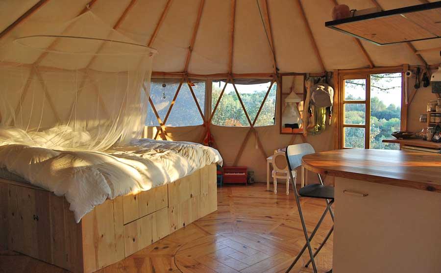 YurtaGer ms all del concepto de la yurta tradicional