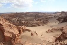 Esta é uma das vistas mais espetaculares que vimos no Atacama