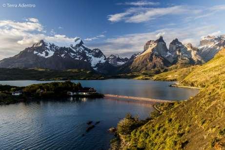 Fim de tarde no Lago Pehoe, Torres del Paine