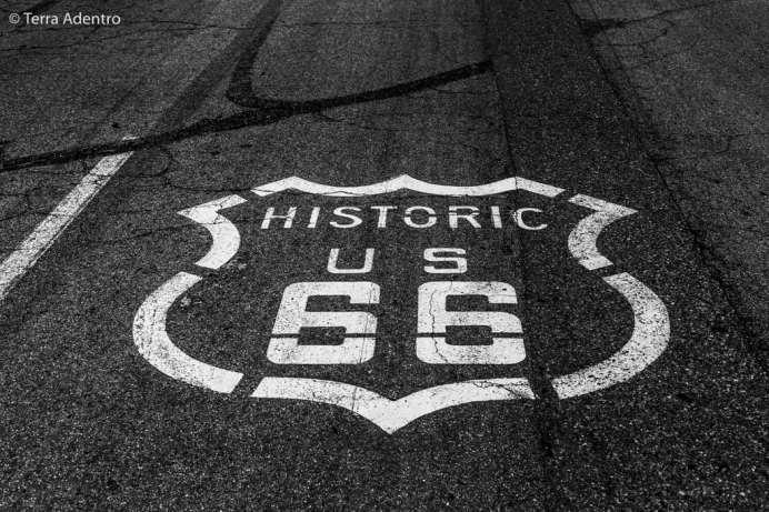 A lendária Route 66