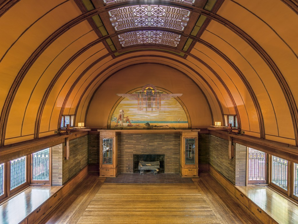 Frank Lloyd Wright Home and Studio Playroom  Terra