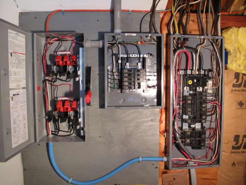 Wiring Diagram Solar Panel Further Generator Transfer Switch Wiring