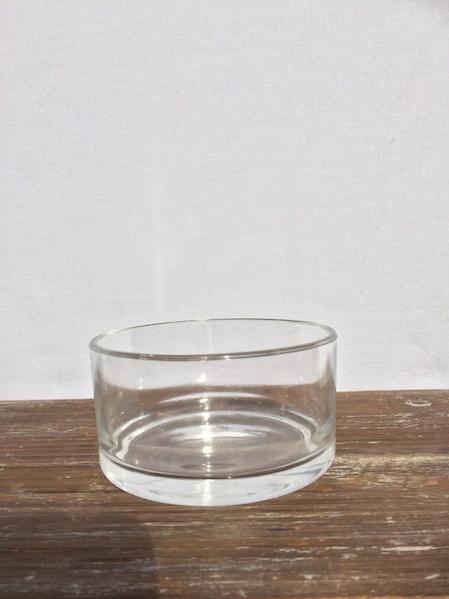 Glasschale klein  Terracotta Deko