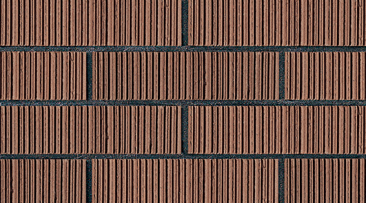 Supply Brown Upright Thin Brick Panels Never FadeBrown