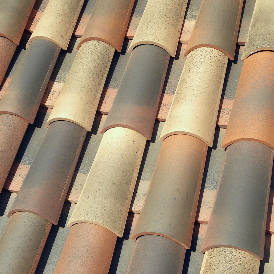 new traditional spanish clay roof tiles 2 tile system