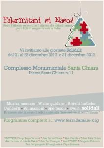 Evento natalizio a Palermo: 'Palermitani si nasce'