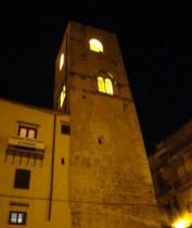 Torre di San Nicolò - Panorama notturno su Palermo