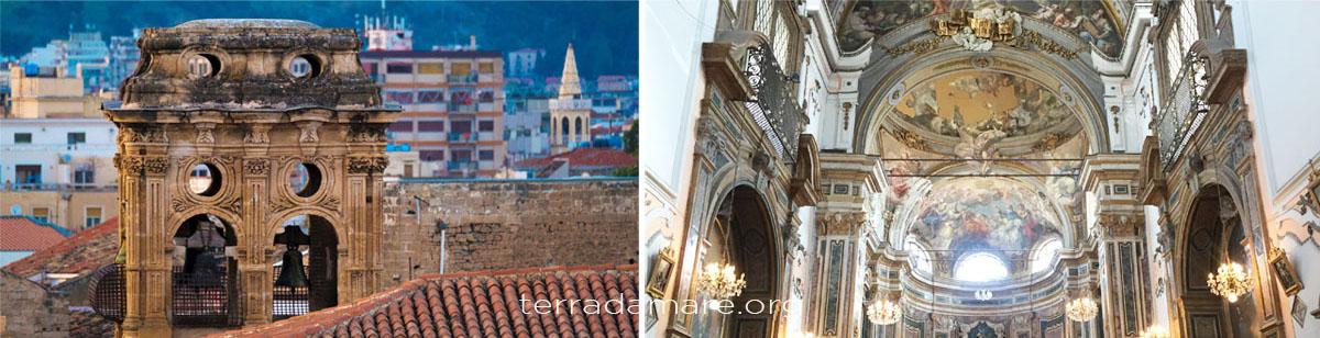 Complesso monumentale di Santa Chiara (chiesa, mura puniche e campanile) - Palermo