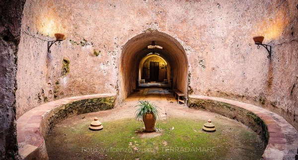 Camera dello Scirocco Villa Naselli Visite nel sottosuolo del complesso appartenuto agli Alliata di Villafranca - foto Vincenzo Russo - Terradamare