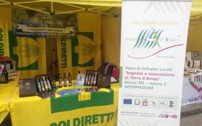 Olio e vino di Terra d'Arneo protagonisti del gran finale di Expo grazie ad un'iniziativa firmata Coldiretti e Gal Terra d'Arneo