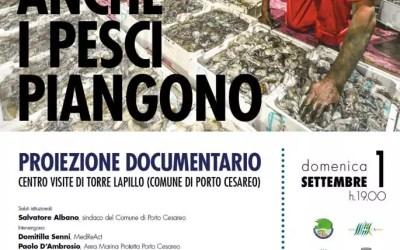 ANCHE I PESCI PIANGONO – proiezione documentario