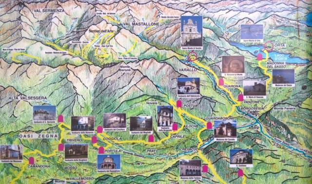 """percorso """"Le valli della Fede"""""""