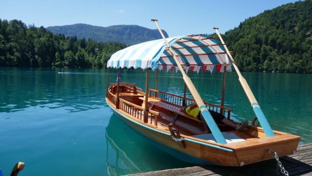 Una pletna, la gondola di Bled