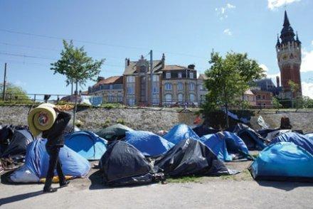 Calais, la capitale des recalés