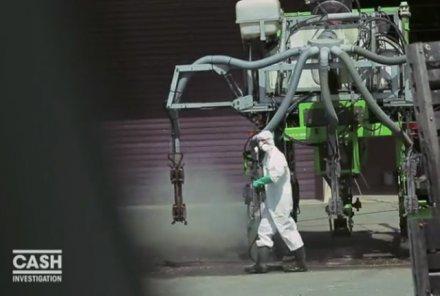 Les pesticides pulvérisés sur France 2