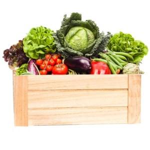 Cassette di Verdura e Frutta di Stagione