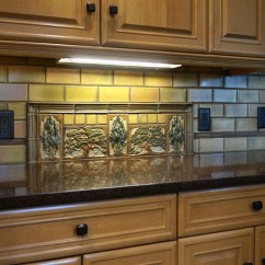 Kitchen Desing Premade Islands Terra Firma, Ltd. Handmade Arts And Crafts Tile ...
